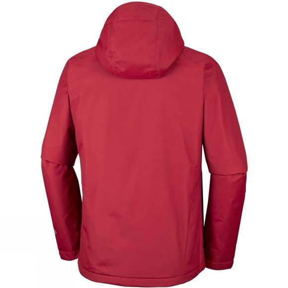Columbia Mens Mossy Path Jacket Red Element