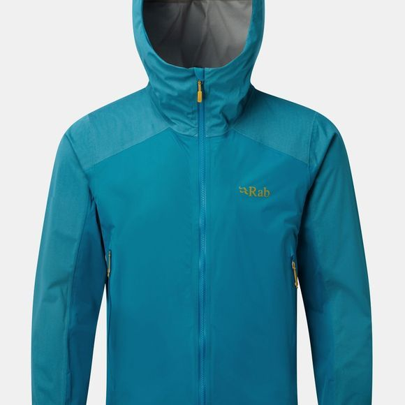 Rab Mens Kinetic Alpine Jacket Azure