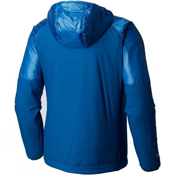 Mountain Hardwear Mens Kor Strata Alpine Hoody Nightfall Blue