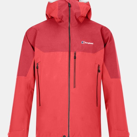 Berghaus Mens Extrem 5000 PZ Jacket Flame / Haute Red