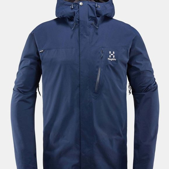 Haglofs Mens Astral Jacket Tarn Blue