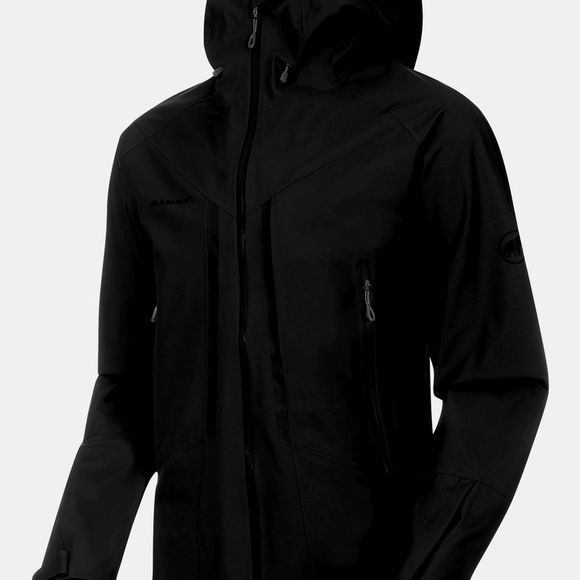 Mammut Mens Masao HS Hooded Jacket Black