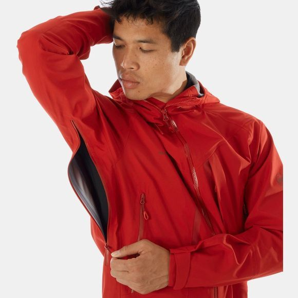 Mammut Mens Masao HS Hooded Jacket Scooter
