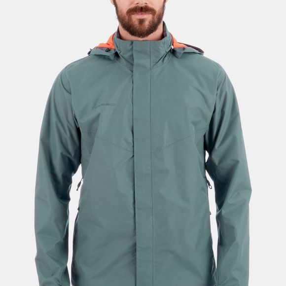 Mammut Mens Trovat HS Hooded Jacket  Storm/Zion