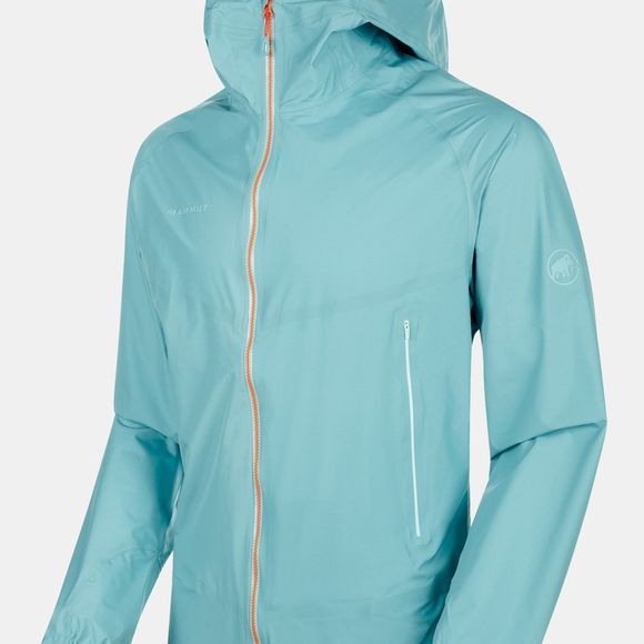 Mammut Mens Masao Light HS Hooded Jacket Waters/Zion