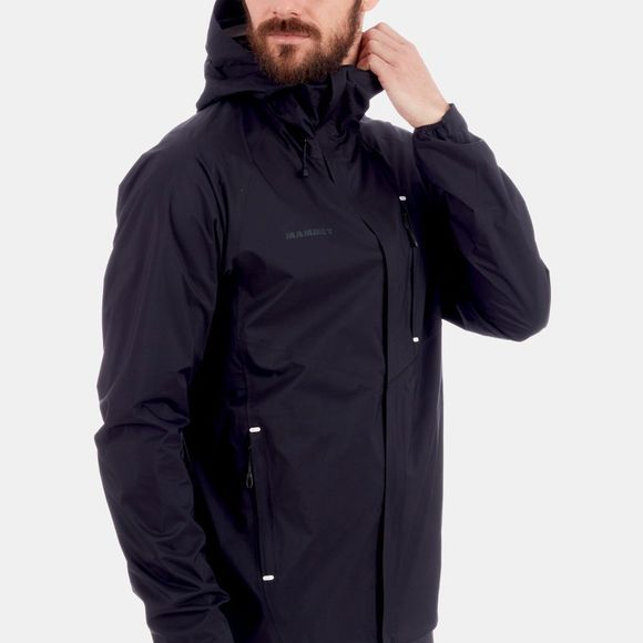 Mammut Mens Convey Pro HS Hooded Jacket Black