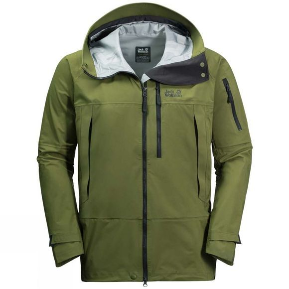Jack Wolfskin Mens The Humboldt Jacket Cypress Green
