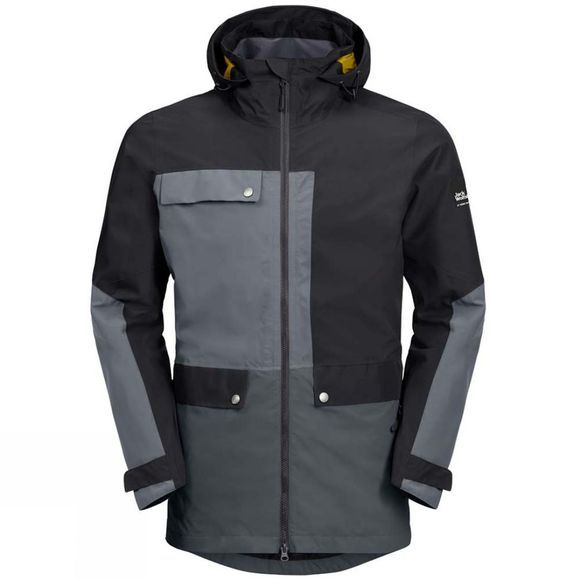 Jack Wolfskin Mens 365 Influencer Jacket Black