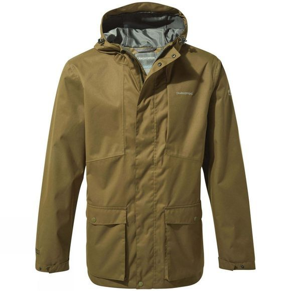 Craghoppers Mens Kiwi Classic Jacket Dark Moss