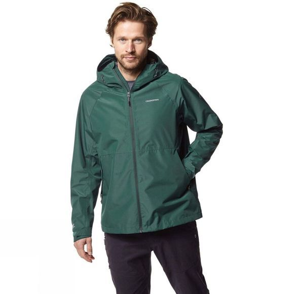 Craghoppers Mens Remus Jacket Mountain Green