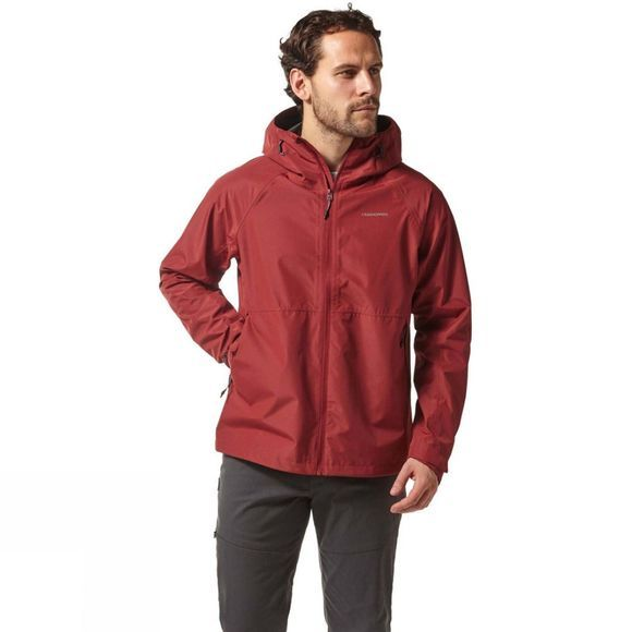 Craghoppers Mens Remus Jacket Firth Red