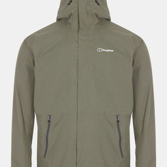 Berghaus Mens Alluvion Shell Jacket Ivy Green