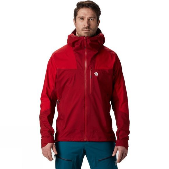 Mountain Hardwear Men's Exposure/2 GTX 3L Active Jacket Dark Brick