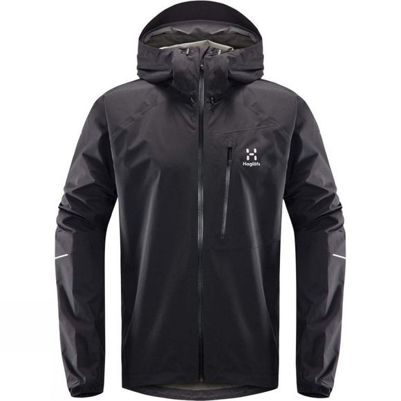 Haglofs Mens L.I.M Jacket True Black