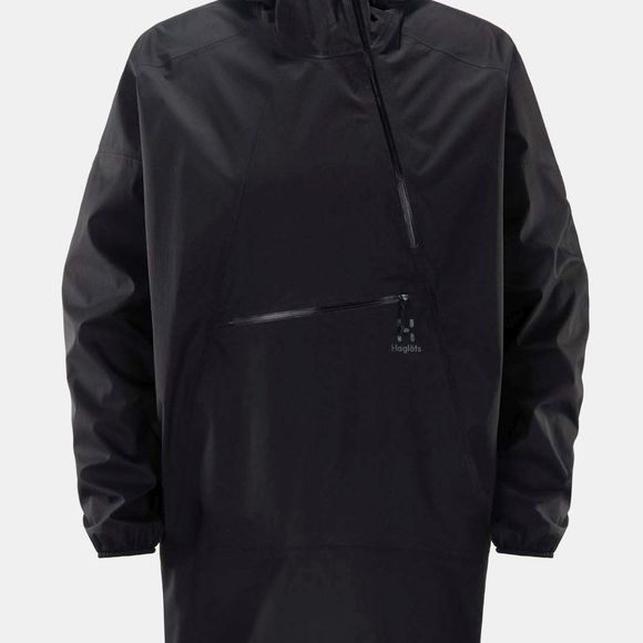 Haglofs Mens Rapak Poncho True Black