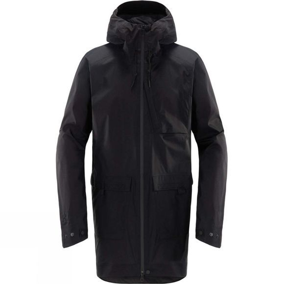 Haglofs Mens Nusnäs 3L Jacket True Black