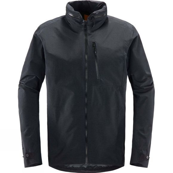 Haglofs Mens Tyngen 2L Jacket True Black