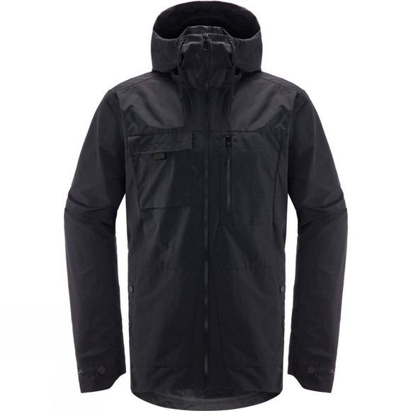 Haglofs Mens Jägra Jacket True Black