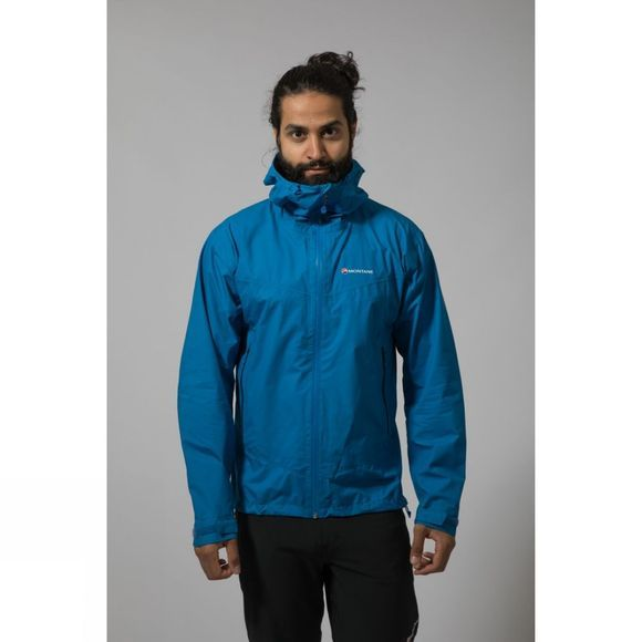 Montane Mens Pac Plus Jacket Electric Blue