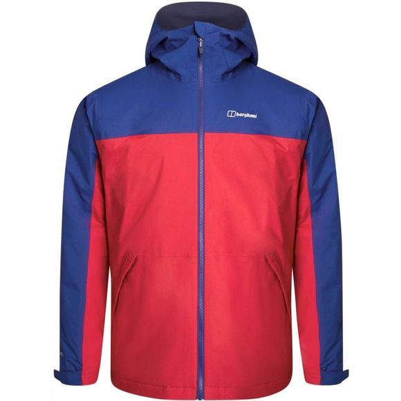 Berghaus Mens Deluge Pro 2.0 Insulated Jacket Haute Red/Sodalite Blue