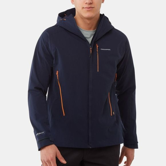 Craghoppers Mens Explore Jacket Blue Navy