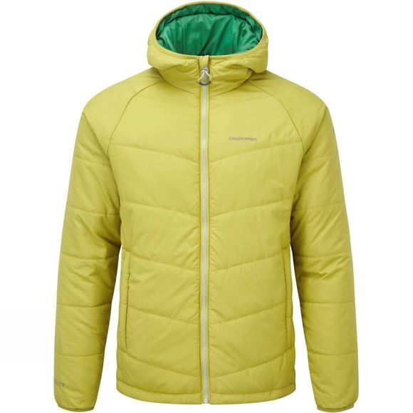 Mens CompressLite Packaway Hooded Jacket