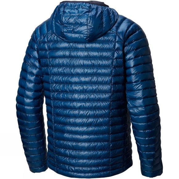 Mountain Hardwear Men's Ghost Whisperer Hooded Down Jacket Nightfall Blue