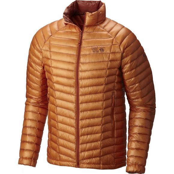 Mountain Hardwear Mens Ghost Whisperer Down Jacket Orange Copper