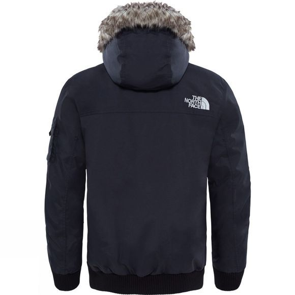 The North Face Mens Gotham Jacket TNF Black/High Rise Grey