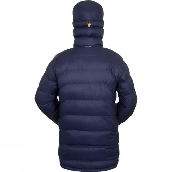 Montane Mens Black Ice Jacket Antarctic Blue/Goldmine Lining
