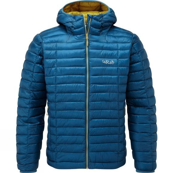 Rab Mens Nimbus Jacket Ink/Mimosa