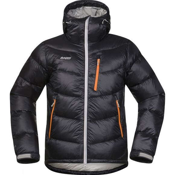 Bergans Mens Memurutind Down Jacket Black / Aluminium