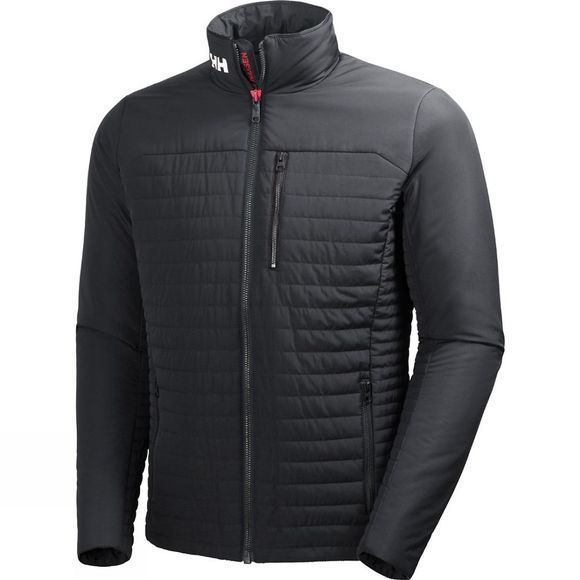 Helly Hansen Mens Crew Insulator Jacket Ebony