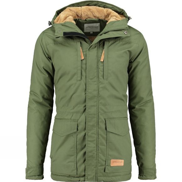 Ayacucho Mens Highland Winter Parka New Pesto