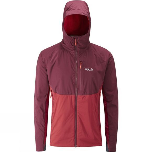 Rab Mens Alpha Direct Jacket Cayenne/ Maple