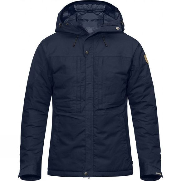 Fjallraven Mens Skogsö Padded Jacket Dark Navy/Dark Navy