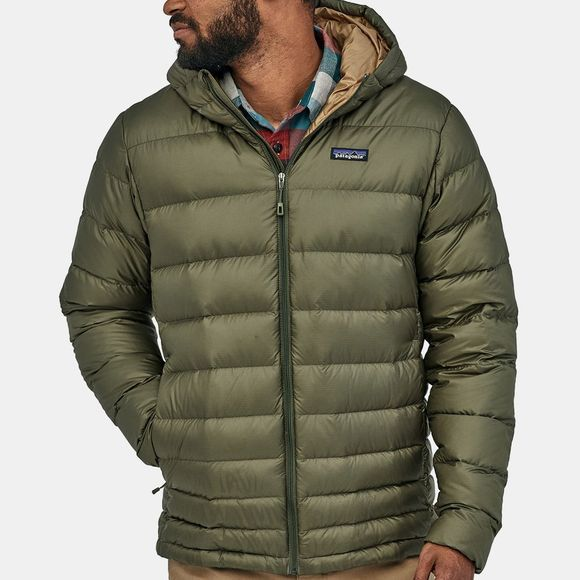 Patagonia Mens Hi-Loft Down Sweater Hoody Industrial Green