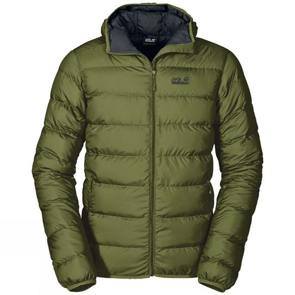Jack Wolfskin Mens Helium Jacket Cypress Green
