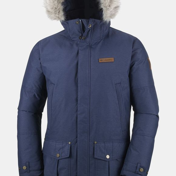 Columbia Mens Timberline Ridge Jacket Collegiate Navy