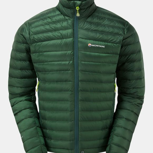 Montane Mens Featherlite Down Micro Jacket Arbor Green
