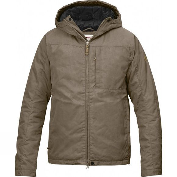 Fjallraven Mens Kiruna Padded Jacket Taupe