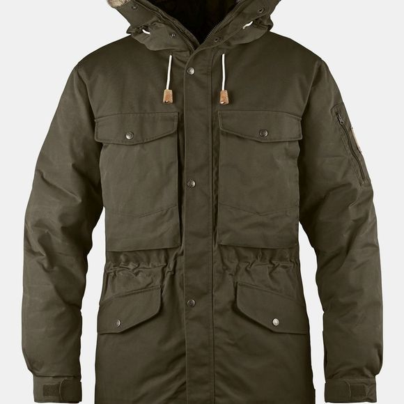 Fjallraven Mens Singi Down Jacket Dark Olive