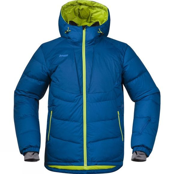 Bergans Mens Sauda Down Jacket Ocean / Spring Leaves