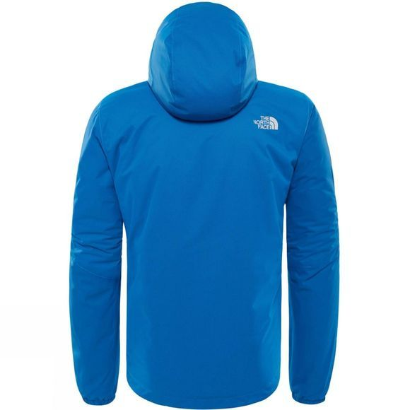 The North Face Mens Quest Insulated Jacket Turkish Sea Black Heather