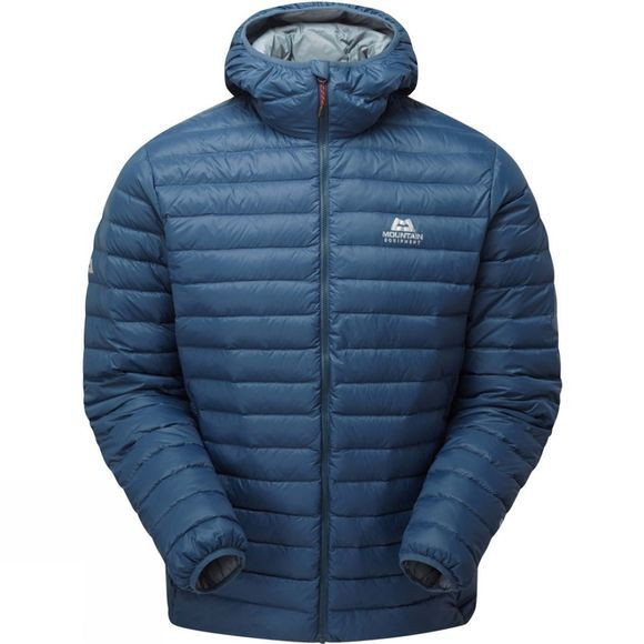 Mountain Equipment Mens Arete Hooded Jacket Denim Blue