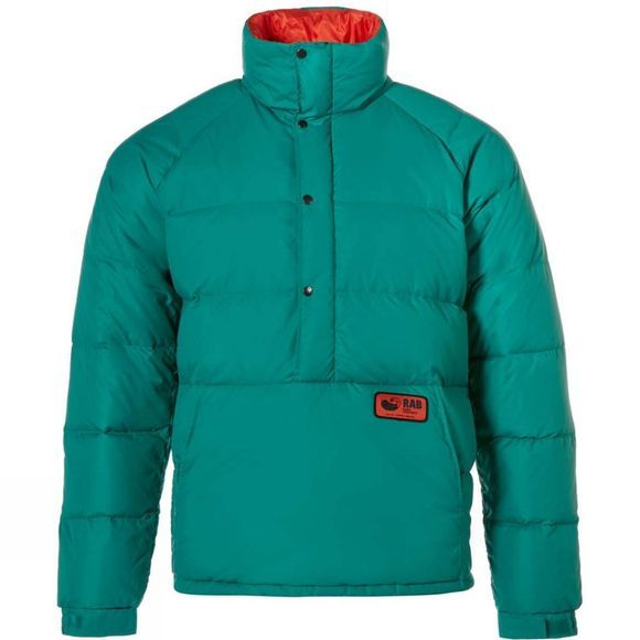 Rab Mens Kinder Smock Fresh Green