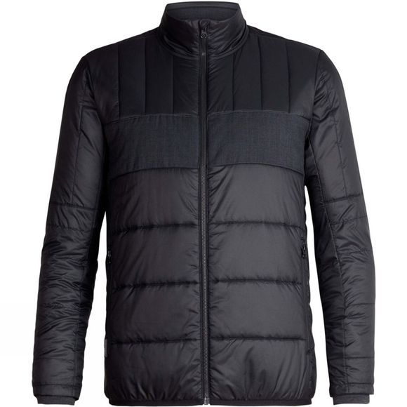 Icebreaker Stratus X Jacket Black/Jet Heather