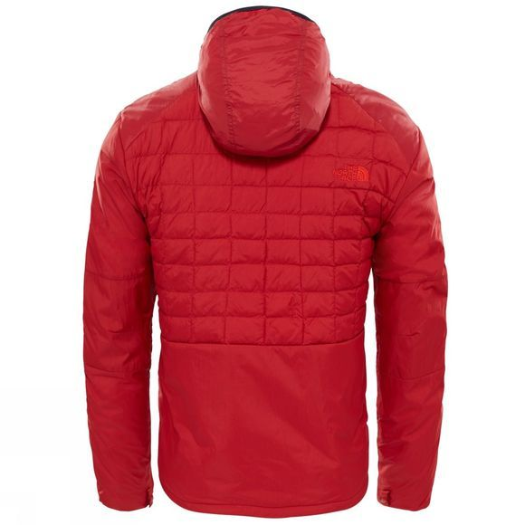The North Face Mens Thermoball Full Zip Jacket Cardinal Red