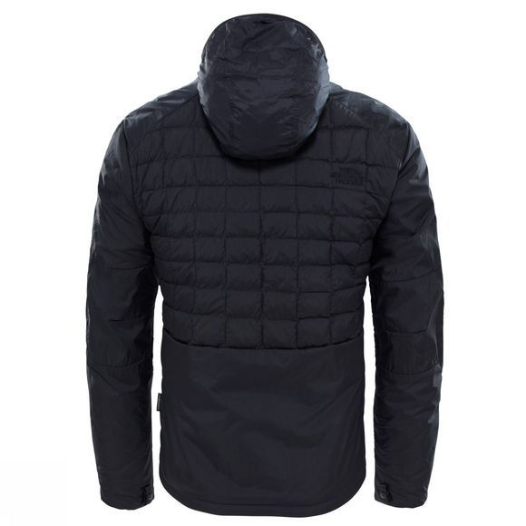The North Face Mens Thermoball Zip-In Jacket TNF Black