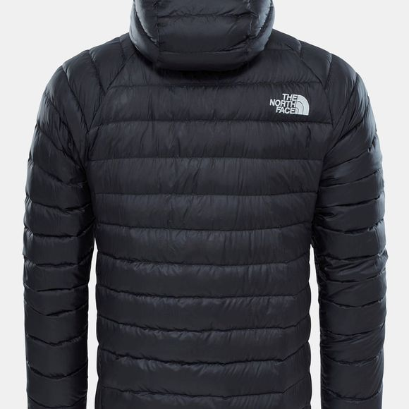 The North Face Mens Trevail Down Hoodie TNF Black TNF Black